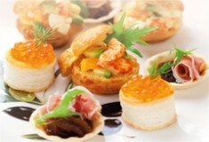 Buffet Catering | ONE°15 Marina Club
